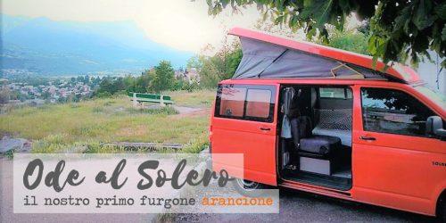 viaggi con un campervan furgone camperizzato
