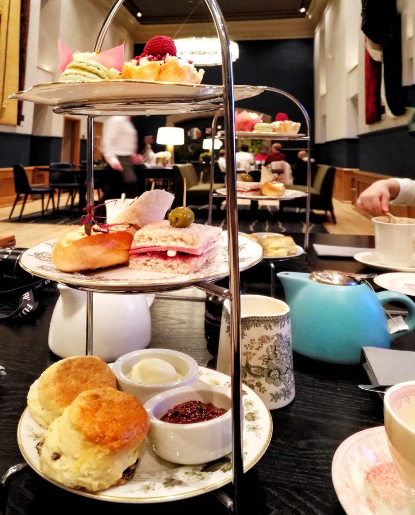 afternoon tea castello di edimburgo