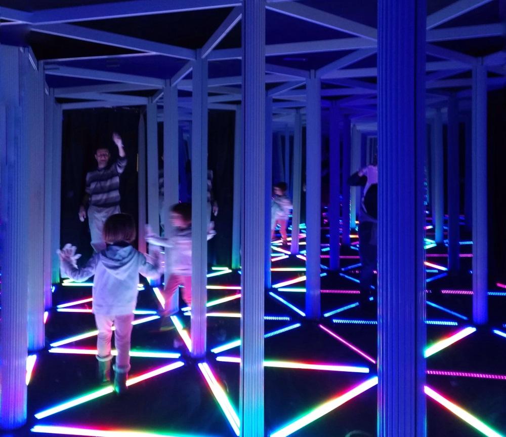 camera obscura di edimburgo labirinto di specchi
