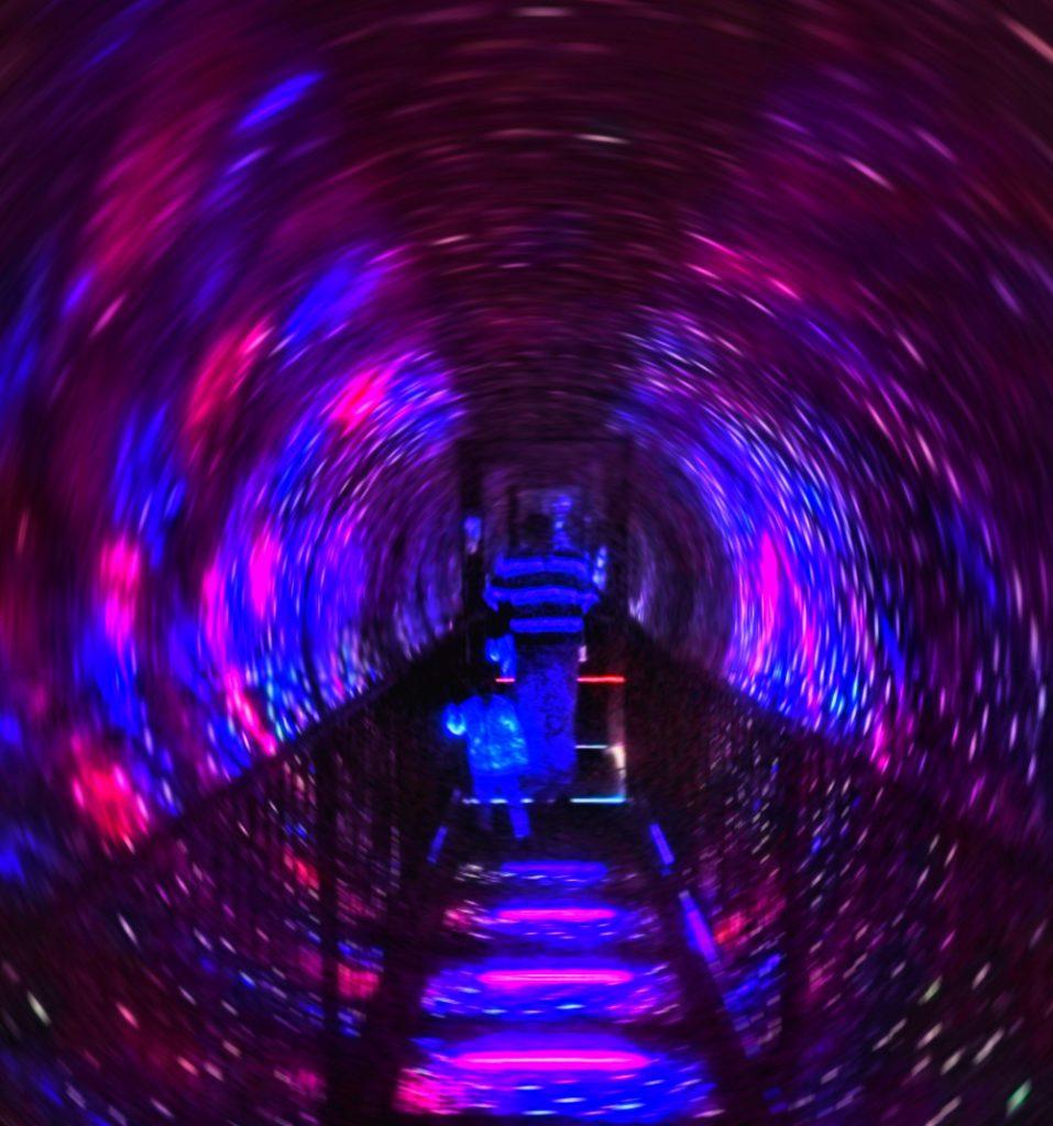 camera obscura di edimburgo vortice di luci