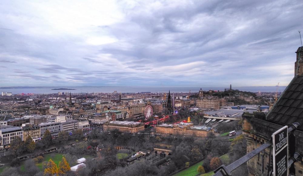 new town edinburgh panorama