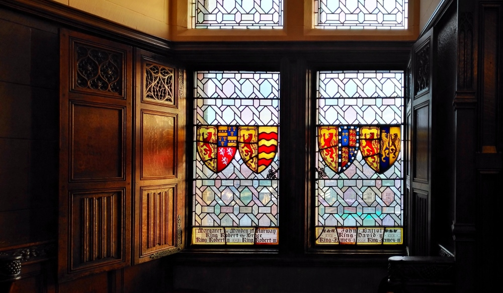 Great hall sala grande castello edimburgo