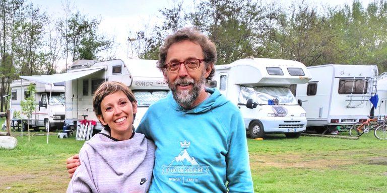 area camper UN PO DI SOSTA AI PIEDI DEL MONVISO